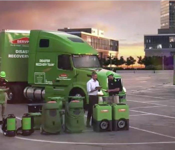 Storm Damage SERVPRO Mobilizes to Help Victims of Hurricane Florence